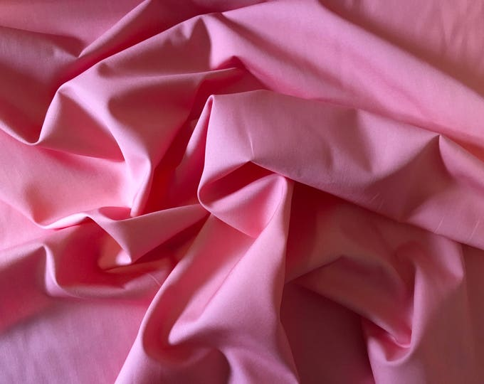 High quality cotton poplin, pink no4