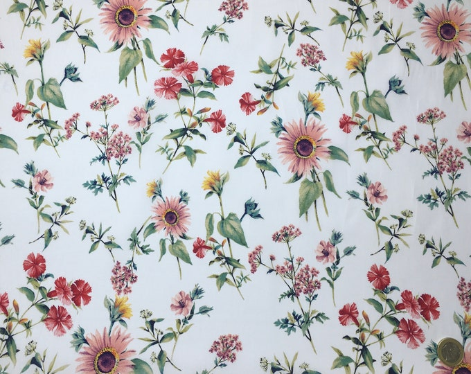 English Pima lawn cotton fabric. Laura
