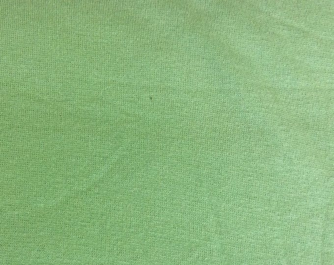 Thick jersey fabric, pistachio