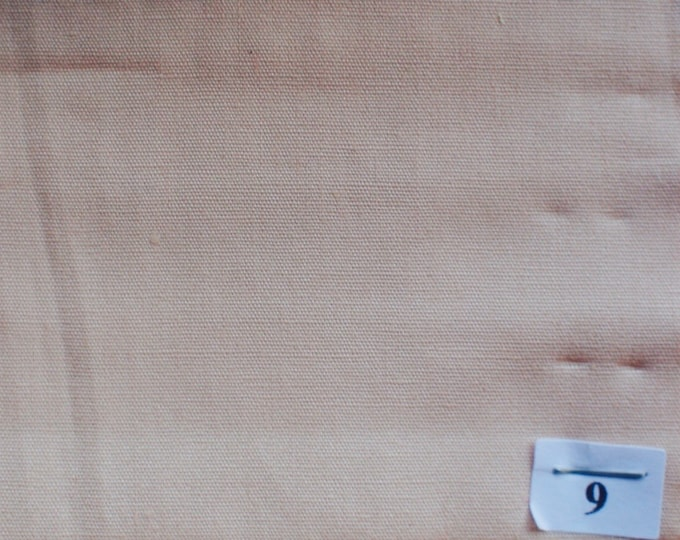 High quality cotton poplin dyed in Japan, nude no9