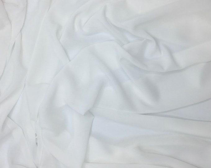 High quality Faux Silk Chiffon. Off white nr2