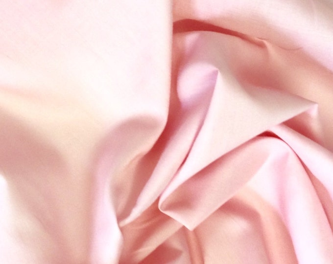 High quality cotton lawn dyed in Japan. Light pink no5