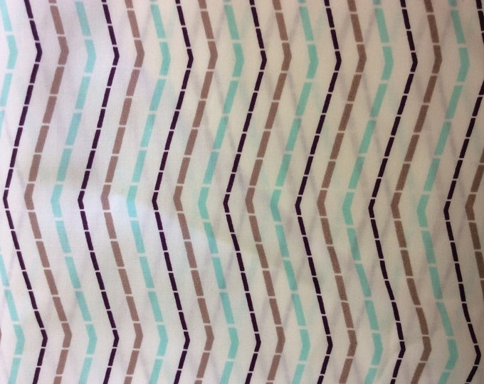 American Moda fabric, geometrical print