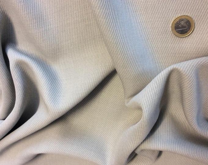Grey clothing fabric
