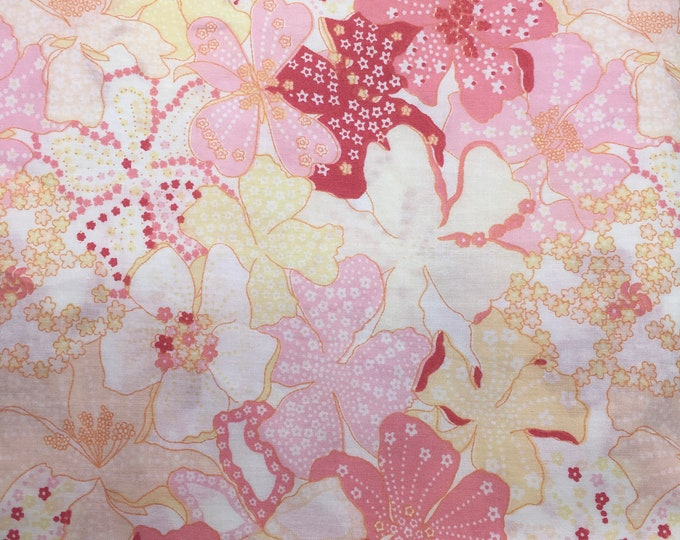 Tana lawn fabric from Liberty of London, exclusive Mauvey Sunset