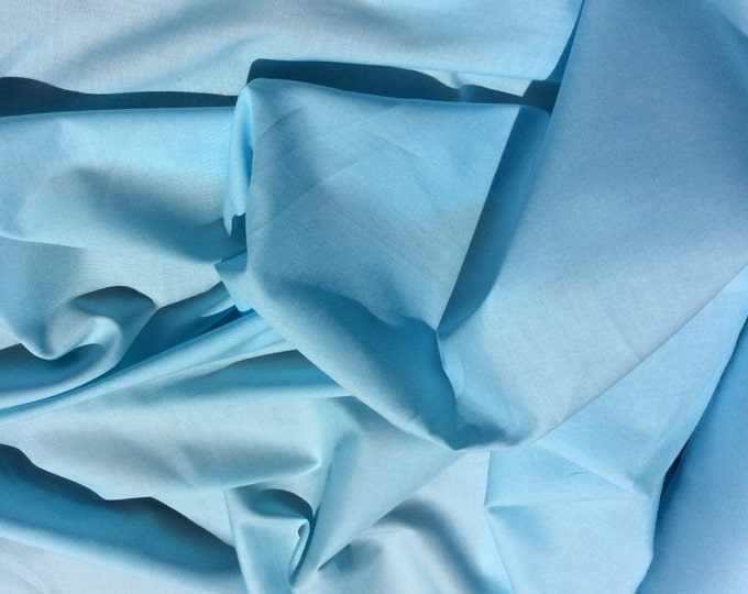 High quality cotton lawn dyed in Japan. Sky blue no36