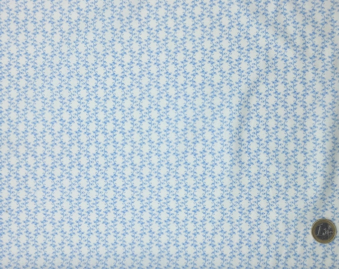 High quality cotton poplin, ligh soft blue no9