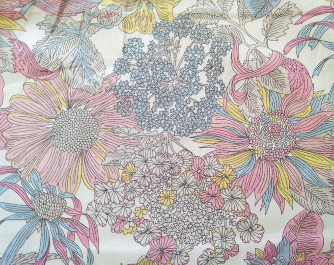 Tana lawn fabric from Liberty if London, Angelica Garla.