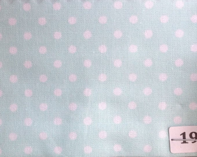 High quality cotton poplin no19, pastel green