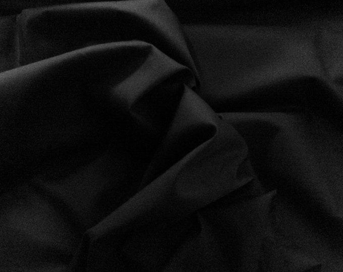 High quality Faux Silk Chiffon. Black nr30