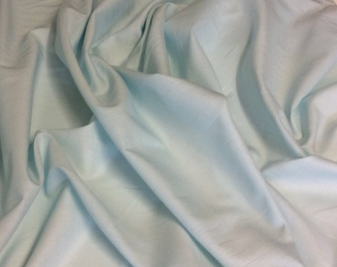 High quality cotton lawn dyed in Japan. Ice green no29