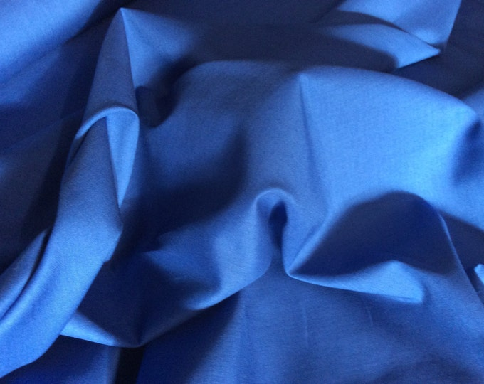High quality cotton lawn dyed in Japan. Royal blue no54