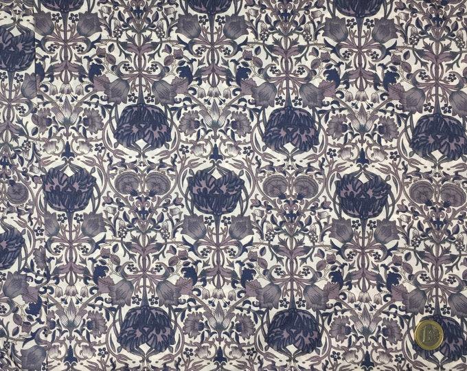 English Pima lawn cotton fabric, China Blue