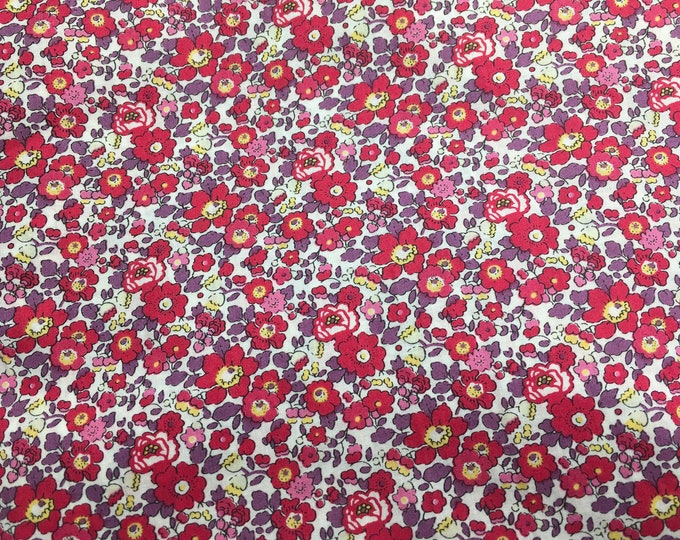 Tana lawn fabric from Liberty of London, exclusive Betsy Ann Sunset