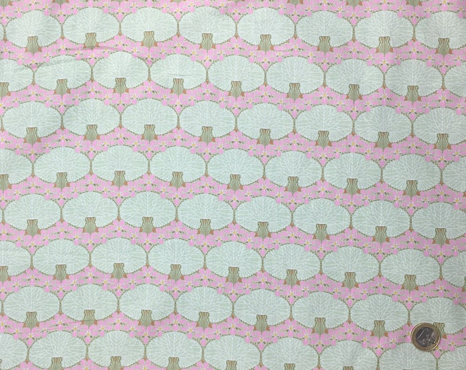 English Pima lawn cotton fabric, priced per 25cm. jugend style