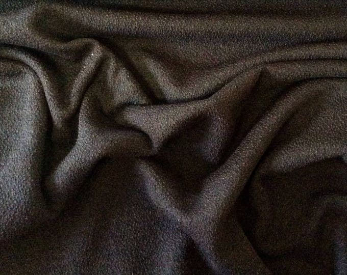 Thick brown/black jersey fabric