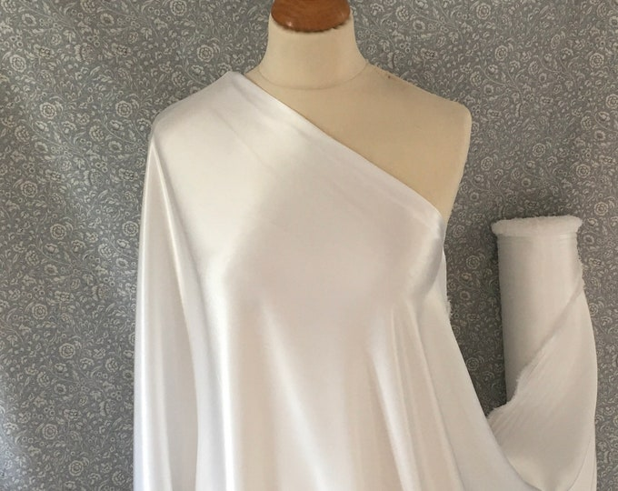 Off white nr13, High quality silky satin back, close to genuine silk crepe, backed crepe.