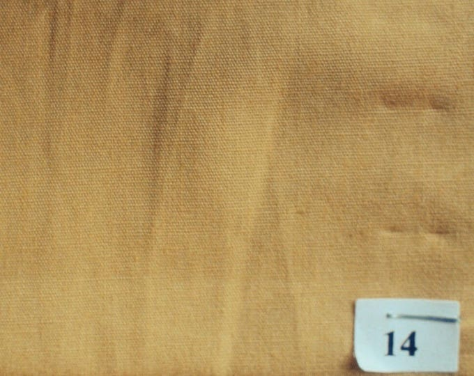 High quality cotton poplin, mustard yellow no14