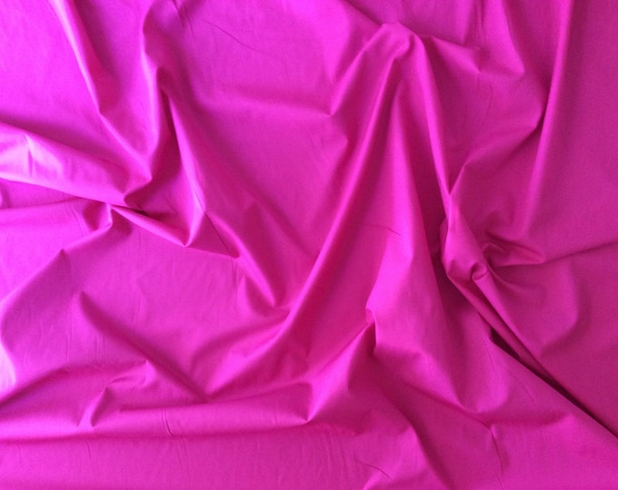 High quality cotton poplin dyed in Japan. Hot pink no32