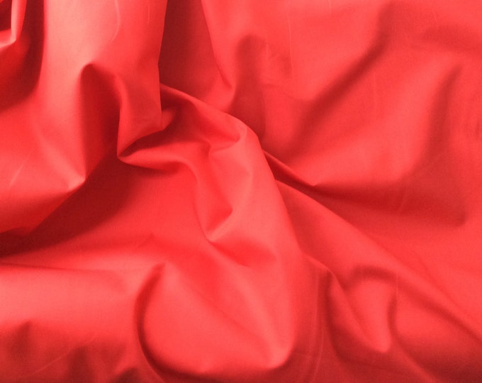 High quality cotton poplin dyed in Japan. red no13