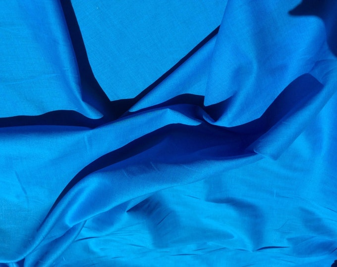 High quality cotton lawn dyed in Japan. Turquoise no31