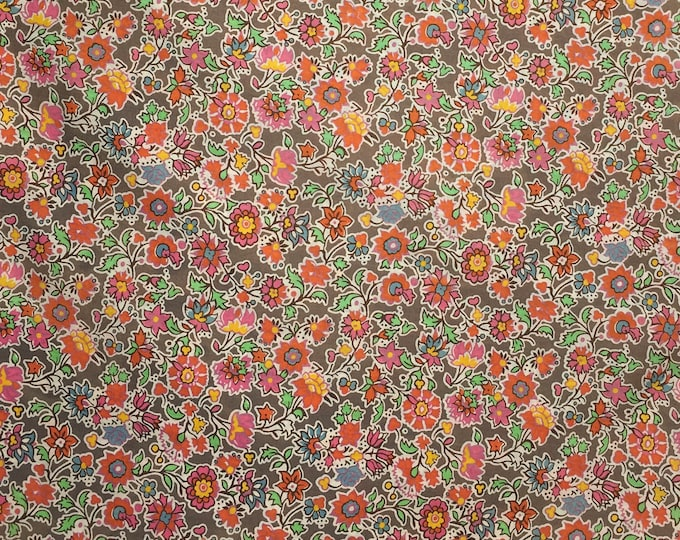 Tana lawn fabric from Liberty of London, exclusive Pereira Autumn