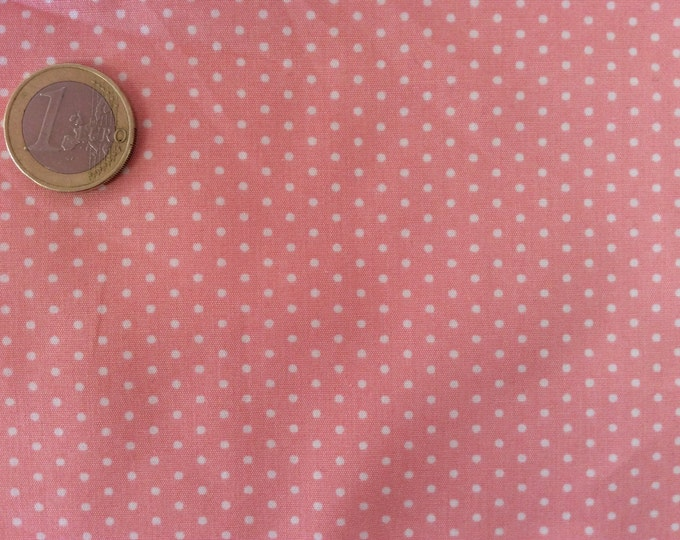 High quality cotton poplin dyed in Japan with 2mm polka dot nr16