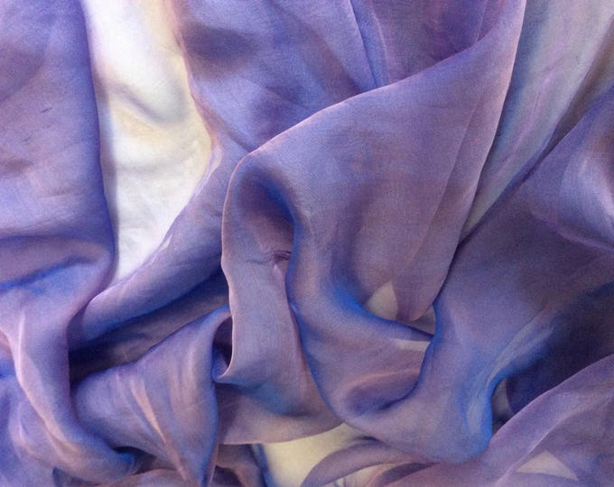 Genuine silk chiffon fabric