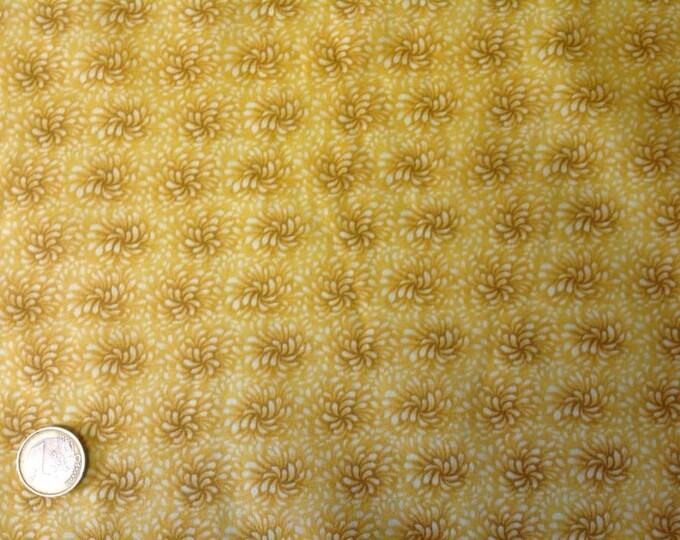High quality cotton poplin, curry blender print
