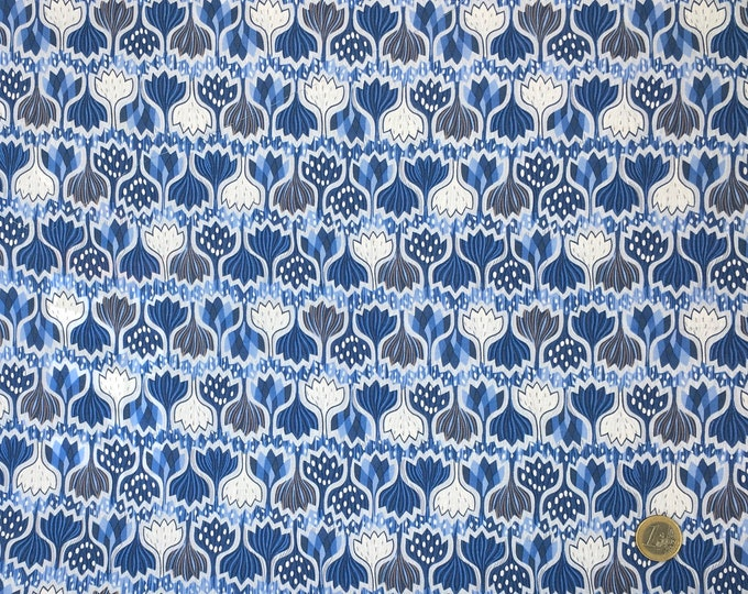 English Pima lawn cotton fabric, priced per 25cm, jugend style