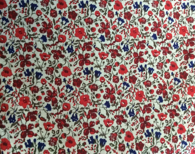 Tana lawn fabric from Liberty of London, Helena's Meadow