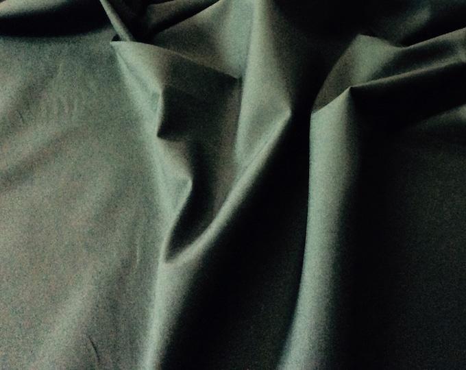 High quality cotton poplin dyed in Japan. Dark green nr66