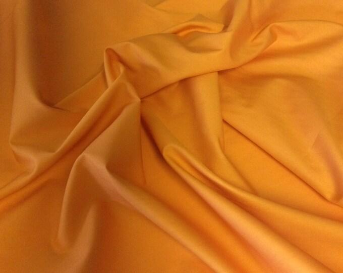 High quality cotton poplin dyed in Japan. Orange no77