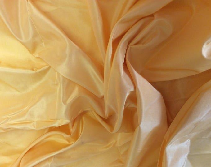 Pure silk fabric, yellow