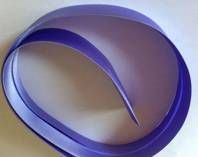 25mm silky sateen bias binding, parma no08