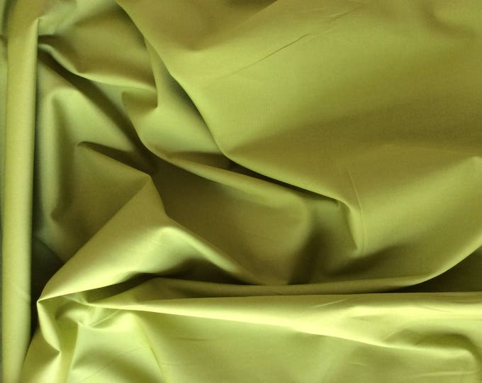 High quality cotton poplin, may green no26