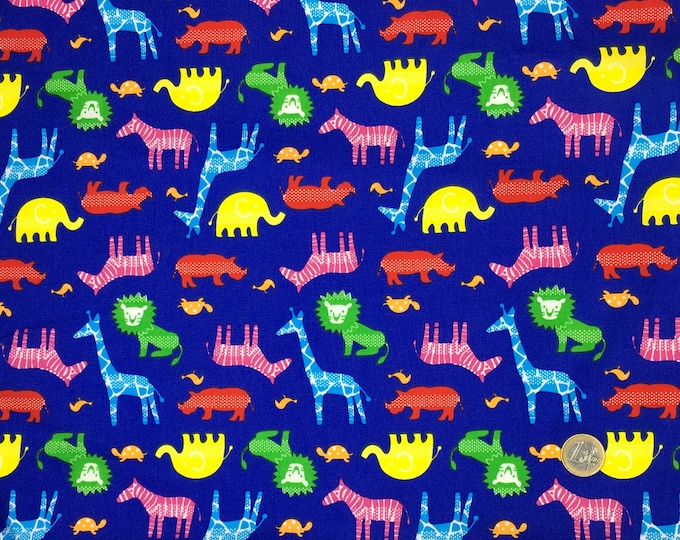 High quality cotton print, animal print
