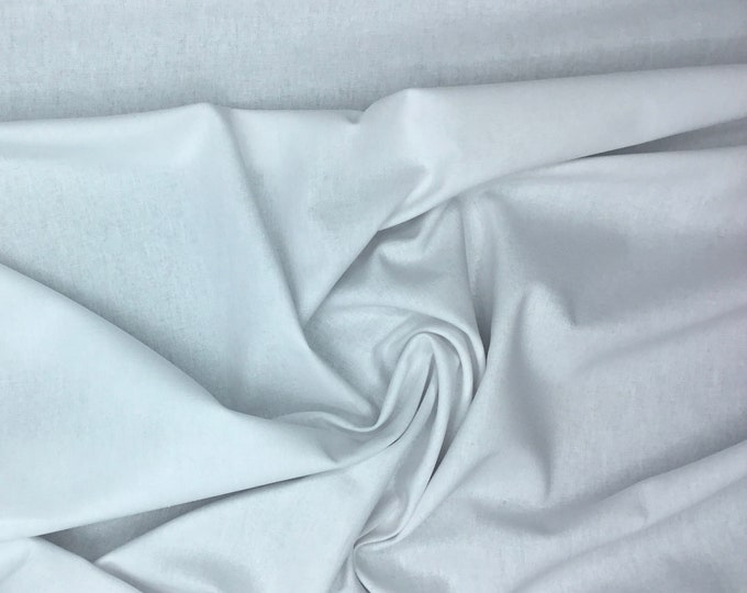 Light cotton canvas, oekotex certified, white nr50