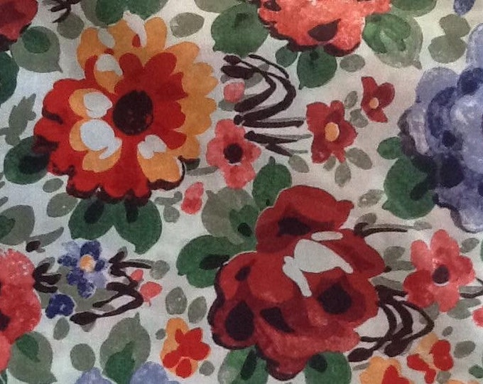 Tana lawn fabric from Liberty of London, Florence