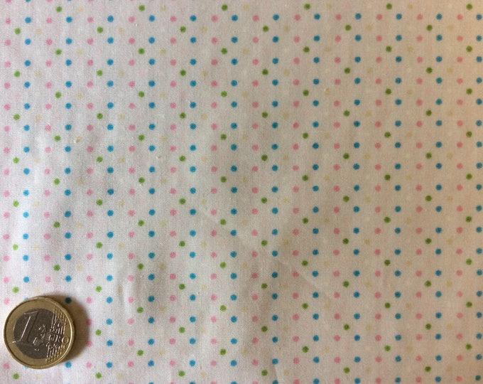 Huh quality cotton poplin, vintage polka dots