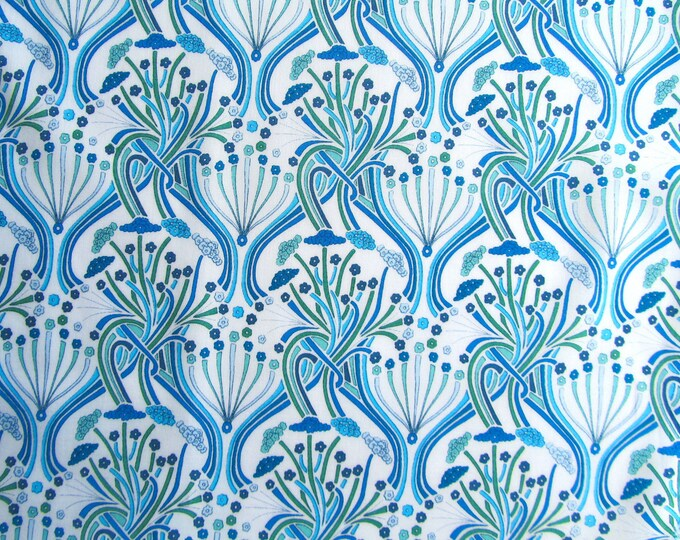 Stretch cotton fabric from Liberty of London, Pelagia