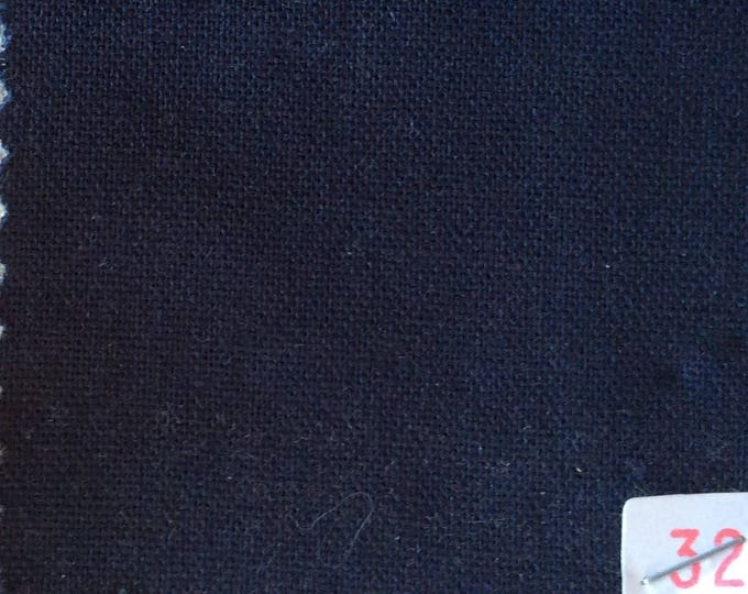 Ligh cotton canvas, navy no32