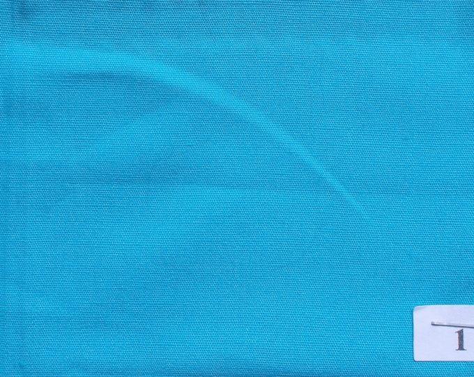 High quality cotton poplin, turquoise no1
