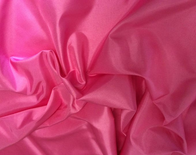 Antistatic acetate lining, mid pink