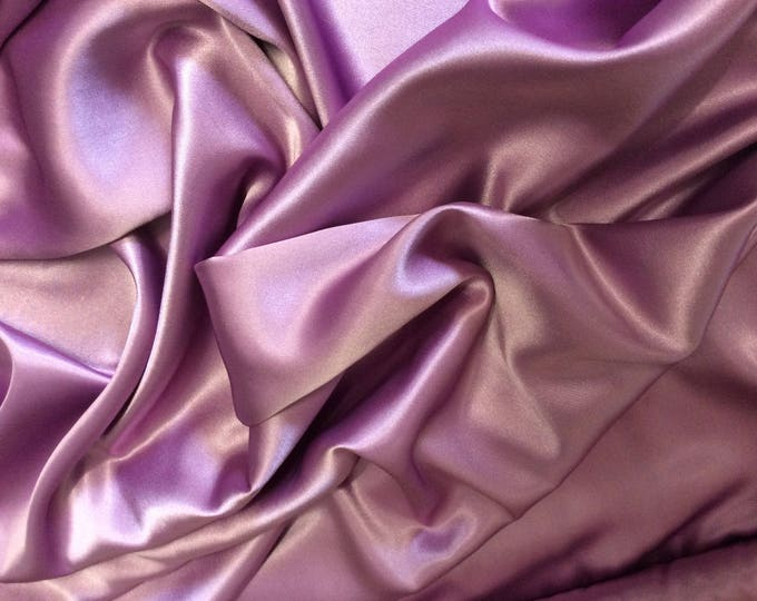 High quality silky sateen, very close to genuine silk sateen. Color Mallow