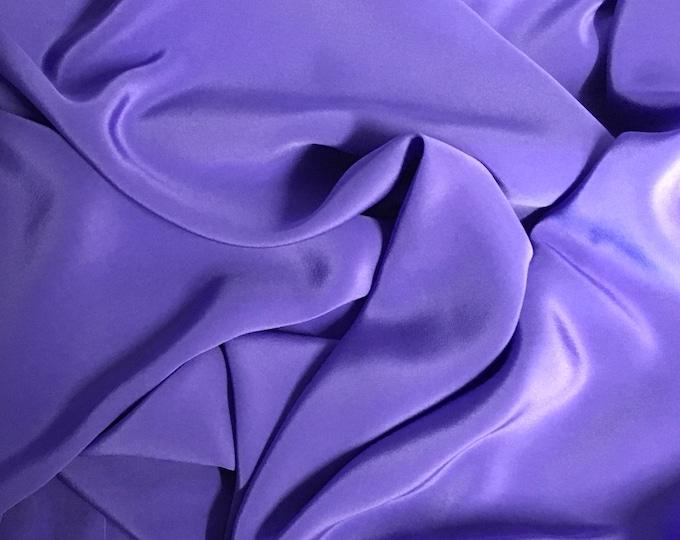 Pure silk fabric, light purple