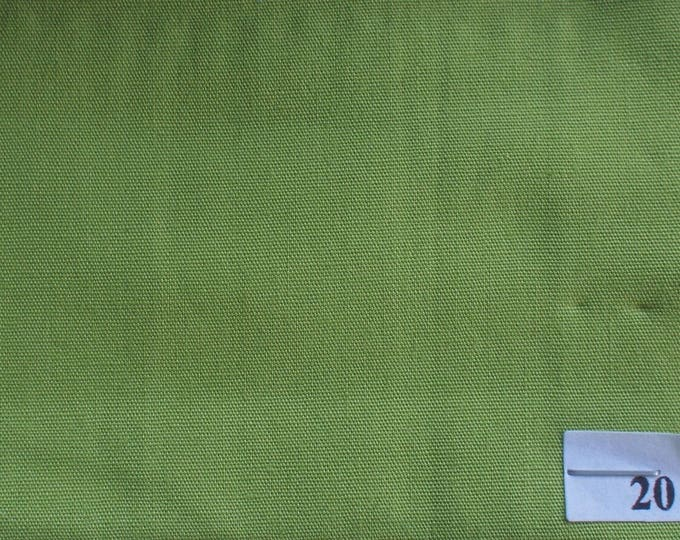 High quality cotton poplin dyed in Japan, apple green no20