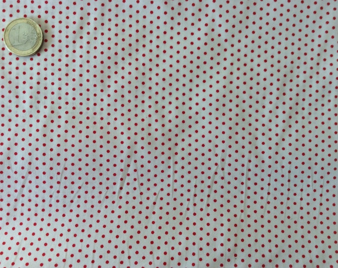 High quality cotton poplin dyed in Japan with 2mm polka dots nr5