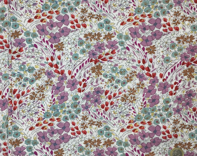 English Pima lawn cotton fabric, Scottish Field