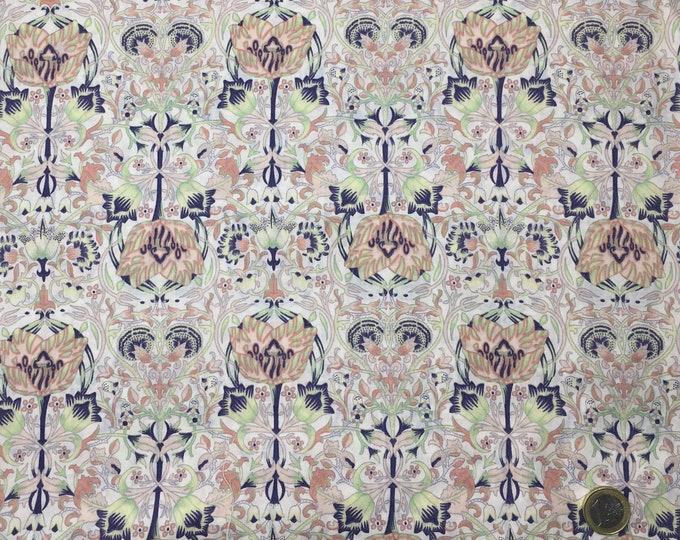 English Pima lawn cotton fabric, Winter Jugend